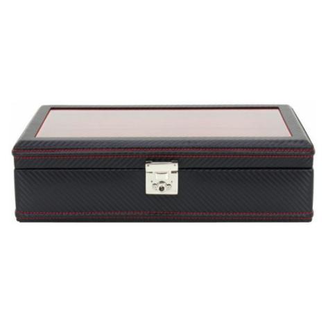 Friedrich Lederwaren Box na hodinky Friedrich Lederwaren Carbon 32048-2
