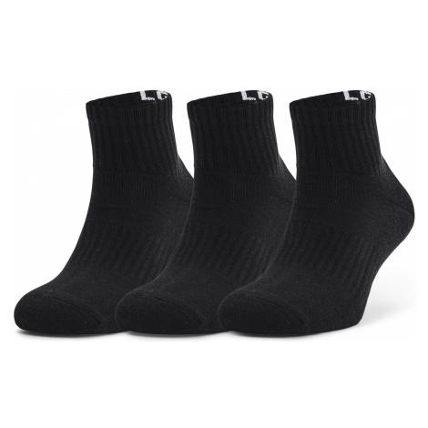 Ponožky Under Armour quarter 3 pack Černá