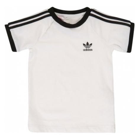 ADIDAS ORIGINALS Tričko '3 Stripes' černá / bílá