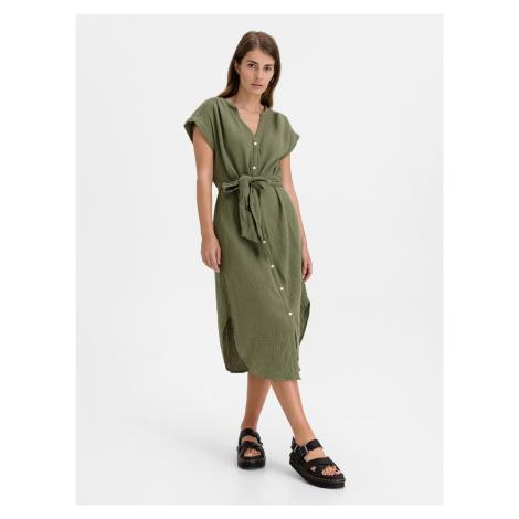 Gauze Šaty GAP Zelená