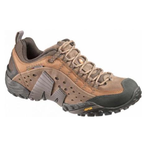 Merrell INTERCEPT hnědá - Pánská outdoorová obuv
