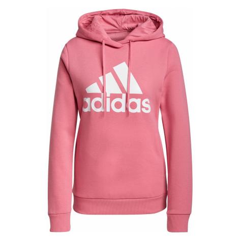 Dámská mikina adidas Loungewear Růžová / Bílá