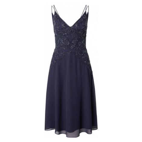 Papell Studio Koktejlové šaty noční modrá