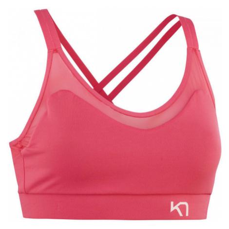 KARI TRAA FROYA KISS růžová - Dámská sportovní podprsenka
