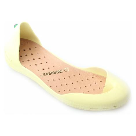 baleríny Iguaneye Freshoes žlutá