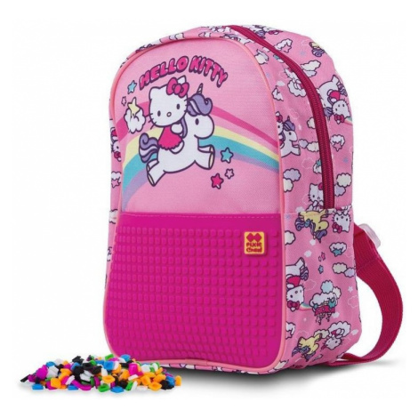 Dětský kreativní pixelový batoh Hello Kitty - jednorožec PXB-24-88 PIXIE CREW