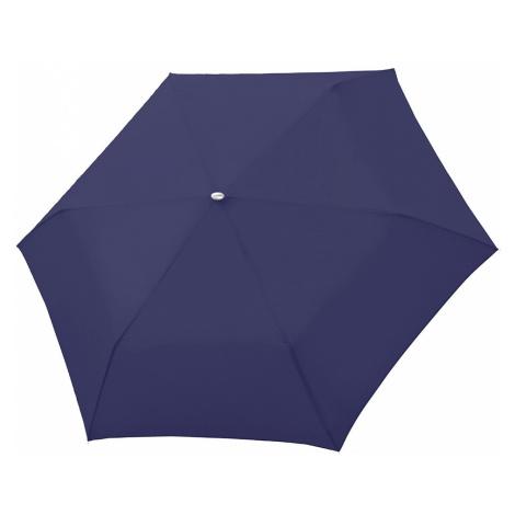 Modrý Slim Uni skládací mechanický elegantní dámský deštník Omnie Doppler