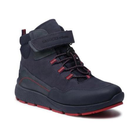 Šněrovací obuv Lasocki Young BI12-SAM-06 Přírodní kůže (useň) - Nubuk