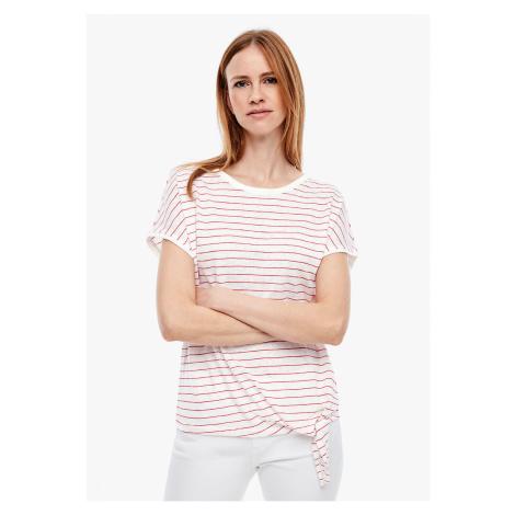 s.Oliver dámské tričko s proužkem 14.003.32.5044/31G2