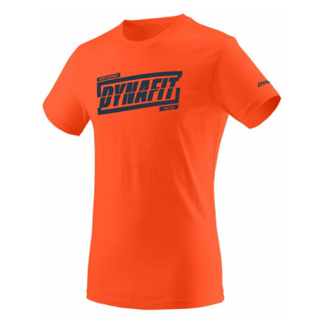 Dynafit triko Graphic CO M S/S TEE - Tabloid, oranžová