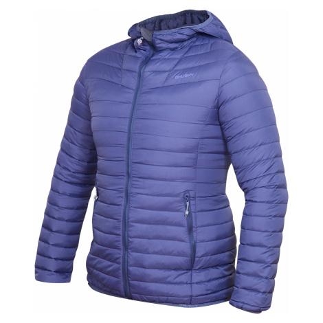 Husky Dreeser L, modrofialová Dámská péřová bunda