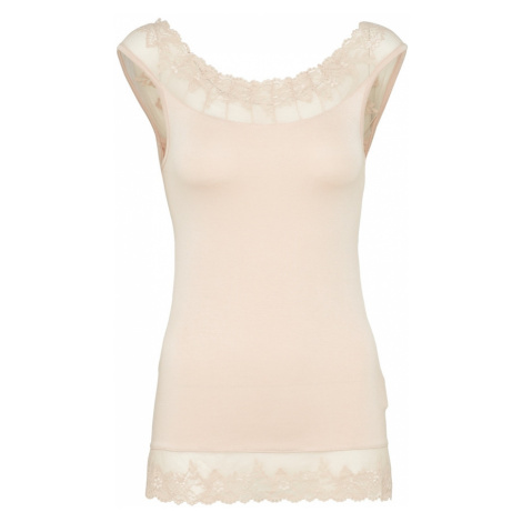 Cream Top 'Florence' pudrová