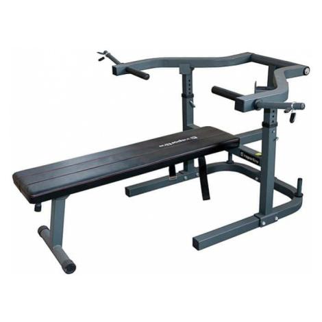 Rovná lavice - tlak na prsa inSPORTline LKM715