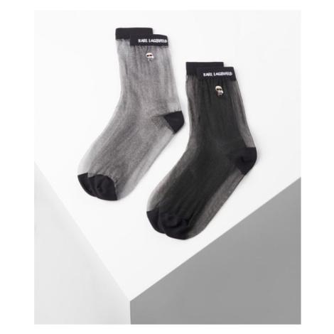 Ponožky Karl Lagerfeld K/Ikonik Transparent Sock Pack - Různobarevná