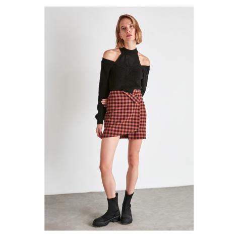 Trendyol Tile Asymmetric Skirt