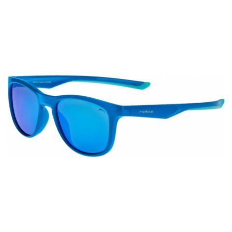 RELAX Vulcano Dětské sluneční brýle R3079C modrá 20L