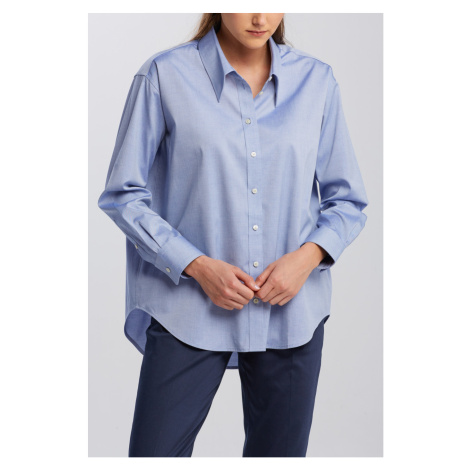 KOŠILE GANT D2. OVERSIZED COLLAR RELAXED SHIRT