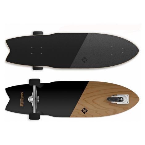 Longboard STREET SURFING Shark Attack 36 Koa - černý