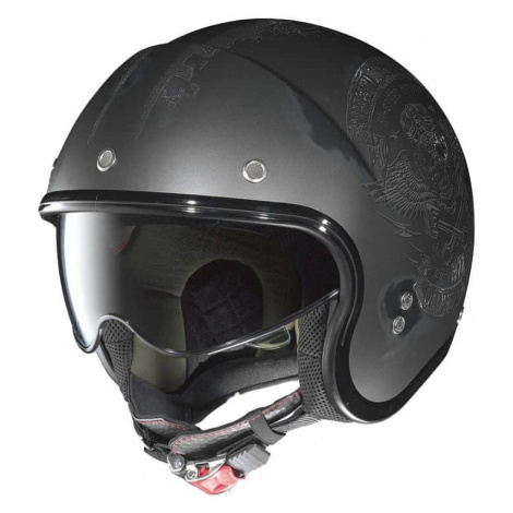 Moto helma Nolan N21 Speed Junkies Flat Asphalt Black Barva Flat Asphalt-Black