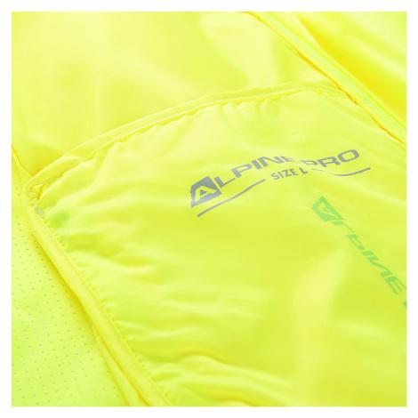 Pánská bunda Alpine Pro BERYL 4 - reflexní žlutá