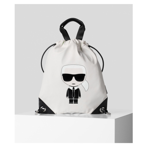Taška Karl Lagerfeld K/Ikonik Nylon Flat Backpack