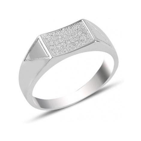 OLIVIE Pánský stříbrný prsten 3732