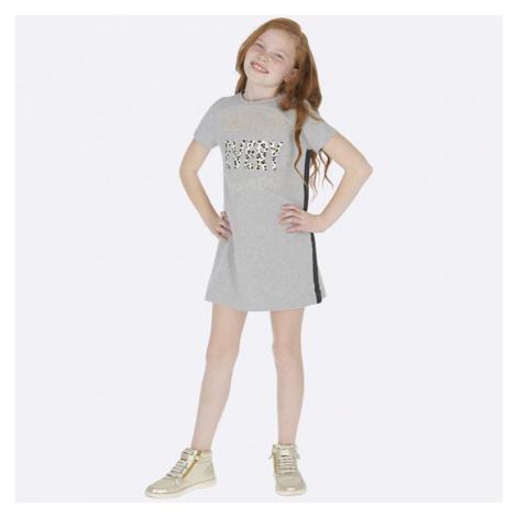 Dívčí šaty Mayoral 7943 | šedá
