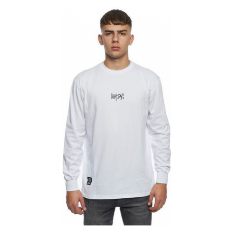 Mass Denim Longsleeve Signature Small Logo white