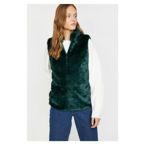 Koton Women's Green Vest