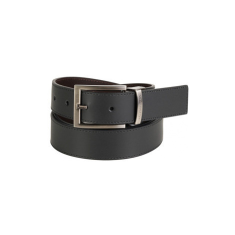 Opasek La Martina Man Belt La Martina Black Dark Brow - Hnědá
