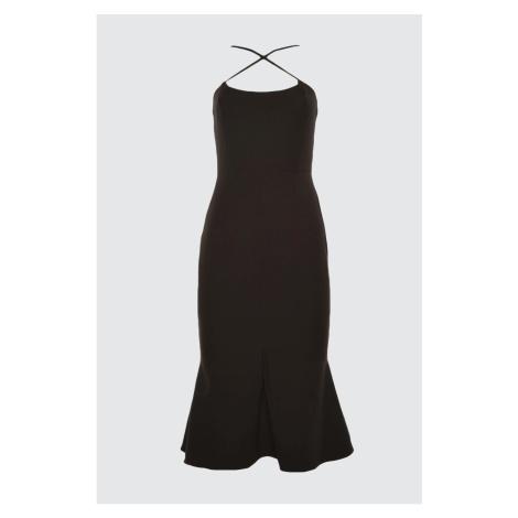 Trendyol Black Back Detailed Dress
