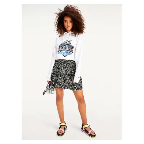 Tommy Hilfiger Tommy Jeans dámská květinová sukně TJW SMOCKED WAIST FLORAL SKIRT