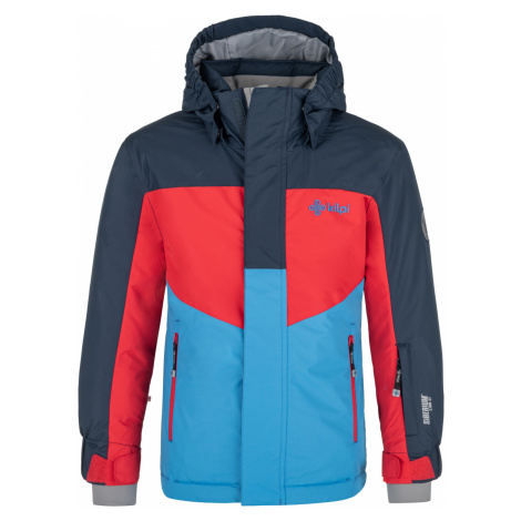 KILPI Chlapecká lyžařská bunda OBER-JB NJ0002KIDBL Tmavě modrá
