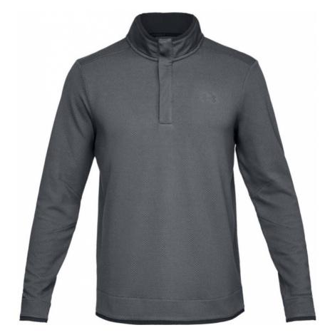 Under Armour Sweaterfleece Snap Mock Pánská mikina 1317345-012 Black