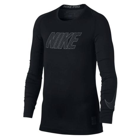 Dětské termo tričko Nike Pro Top Černá