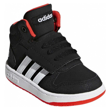 adidas HOOPS MID 2.0 I černá - Dětská zimní obuv