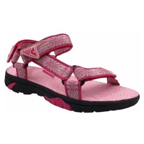 Crossroad MEPER růžová - Dětské sandály