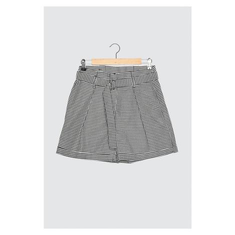 Trendyol Black Belt Shorts & Bermuda