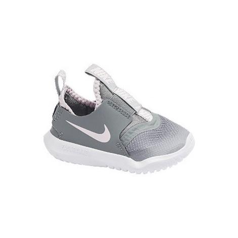 Šedé dětské slip-on tenisky Nike Flex Runner