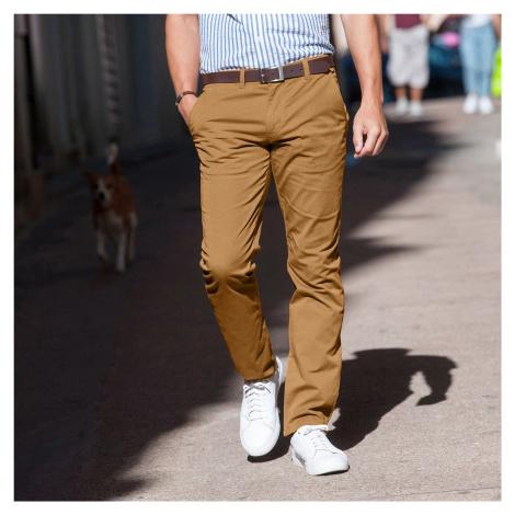 Blancheporte Chino kalhoty karamelová