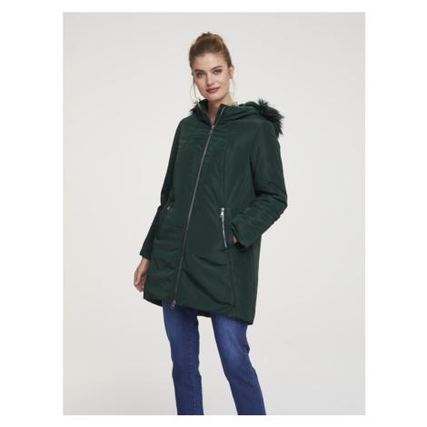 Heine Zimní bunda tmavě zelená