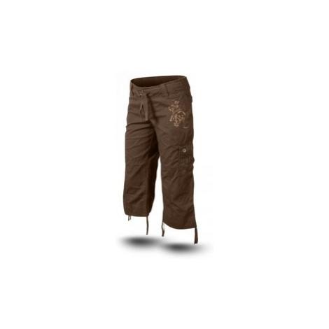 Trimm SHARON dámské 3/4 kalhoty Barva: hnědá