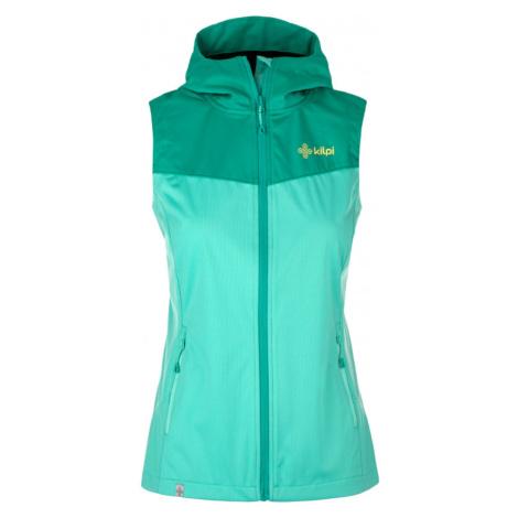 Women's softshell vest Cortina-w turquoise - Kilpi