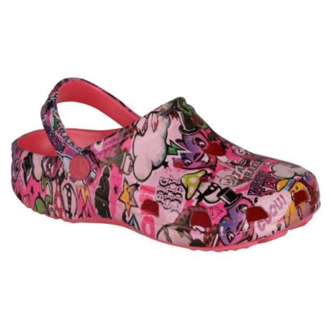 Coqui FROG růžová - Dětské sandály