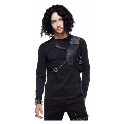 tričko pánské s dlouhým rukávem DEVIL FASHION - TT116