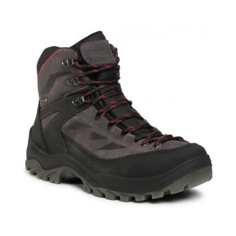 Šněrovací obuv Sprandi Outdoor Performance AD94028S Přírodní kůže (useň) - Semiš