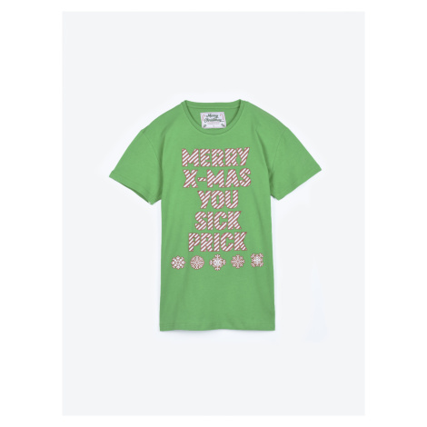 GATE Pyžamové tričko s vánočním motivem