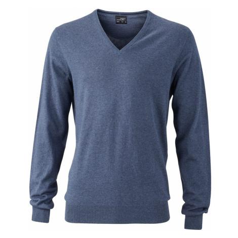 James & Nicholson Luxusní pánský svetr s kašmírem JN664
