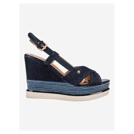 Sunny Kelly Klínová obuv Wrangler Modrá