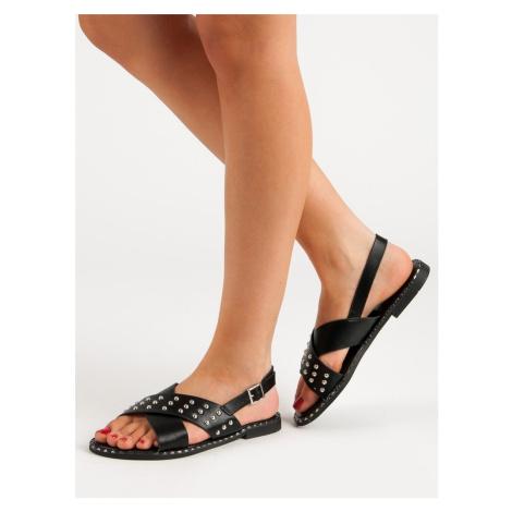 Originální dámské sandály bez podpatku FILIPPO